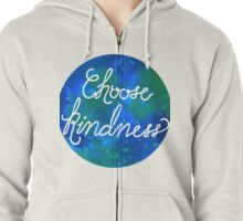Choose Kindness-Cool Zipped Hoodie