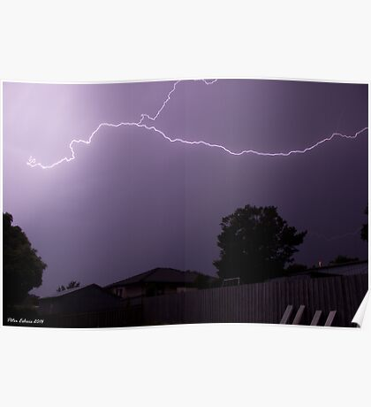 Summer Thunderstorm 2 Poster