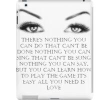 love 2 iPad Case/Skin