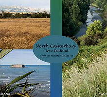 North Canterbury postcard style by Belinda Osgood