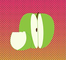 Green Apple  by mes1