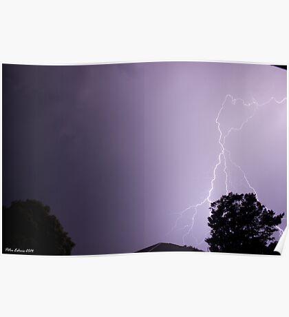 Summer Thunderstorm 7 Poster