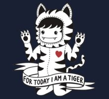 For today I am a tiger One Piece - Long Sleeve
