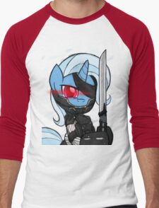 Metal Gear Trixie (My Little Pony: Friendship is Magic) Men's Baseball ¾ T-Shirt