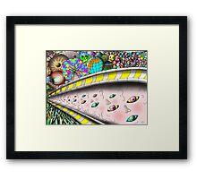 Eye Ball Composition Framed Print