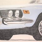 BMW 3.0 CSi by Peter Brandt