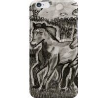 Galloping in the Wind iPhone Case/Skin