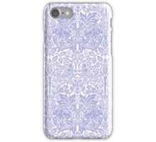 William Morris Rabbit and Bird Blue and White iPhone Case/Skin