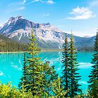 Emerald Lake by David Geoffrey Gosling (Dave Gosling)