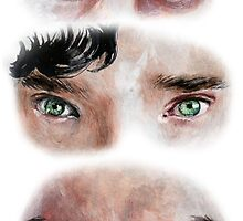 The Eyes of BBC's SHERLOCK by Alexandria  Monik