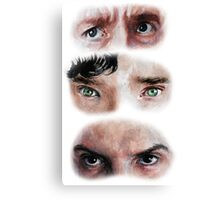 The Eyes of BBC's SHERLOCK Canvas Print