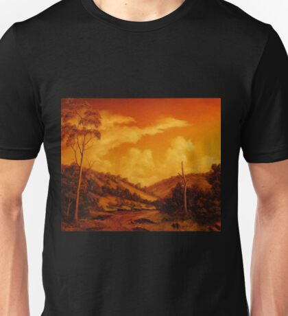 WARM SUNSET Unisex T-Shirt