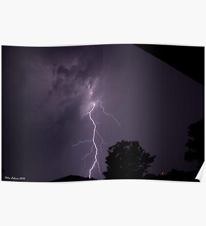 Summer Thunderstorm 16 Poster