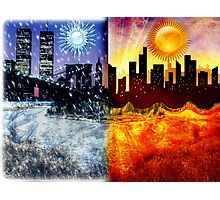 Global Climate Change Photographic Print