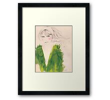 green wednesday Framed Print
