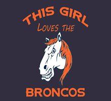 This Girl Loves Broncos  Hoodie
