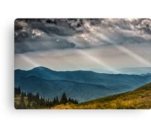 Nature panorama Canvas Print