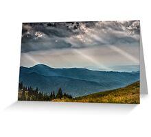 Nature panorama Greeting Card