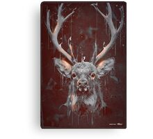 DARK DEER Canvas Print