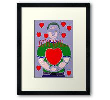 LOVE YOU 6 Framed Print