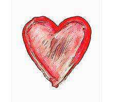 heart - symbol of love Photographic Print
