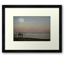 Romancing the Moon Framed Print