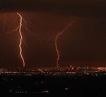 Stormy Melbourne skys. by Donovan wilson