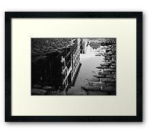 Reflections of SOHO Framed Print