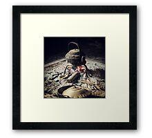 Tribal Tea Framed Print