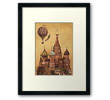Trip to Moscow  Framed Print