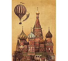 Trip to Moscow  Photographic Print