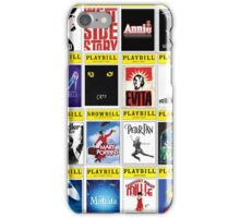 Playbill palooza 2! iPhone Case/Skin