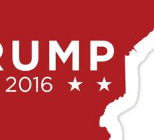 Donald Trump 2016 State Pride - Minnesota Sticker