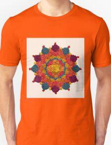 Healing Mandala Cheerful Colors T-Shirt