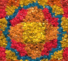 Healing Mandala Cheerful Colors Sticker