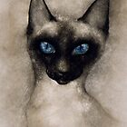 THE SIAMESE CAT by Leny .