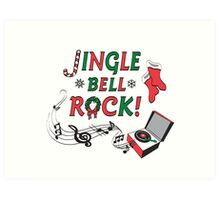 Jingle Bell Rock Art Print