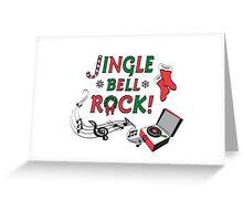 Jingle Bell Rock Greeting Card