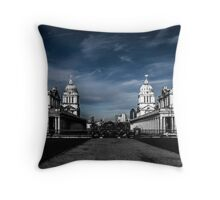 Greenwich Naval College Throw Pillow