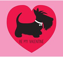 Be My Valentine – Scottie by BonniePortraits