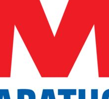 MARATHON LUBRICANT OIL RACING Sticker