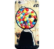 Gum Ball Machine iPhone Case/Skin
