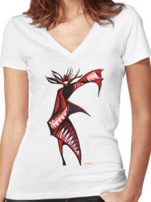 Warrior Queen - Series 1 Women's Fitted V-Neck T-Shirt