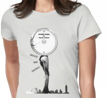 Seduce and Destroy Womens Fitted T-Shirt