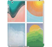 Water, Fire, Air, Earth iPad Case/Skin