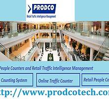 Traffic Measurement and Foot Traffic Counter - www.prodcotech.com by prodcotech