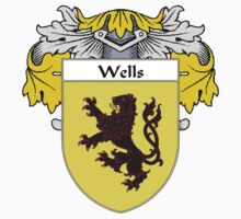 Wells Coat of Arms / Wells Family Crest by William Martin