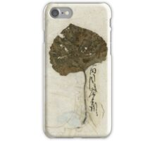 Leaf On Kinwashi iPhone Case/Skin
