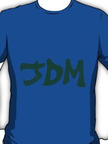 JDM plain graffiti - Green T-Shirt