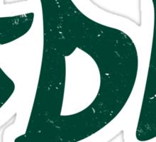 JDM plain graffiti - Green Sticker